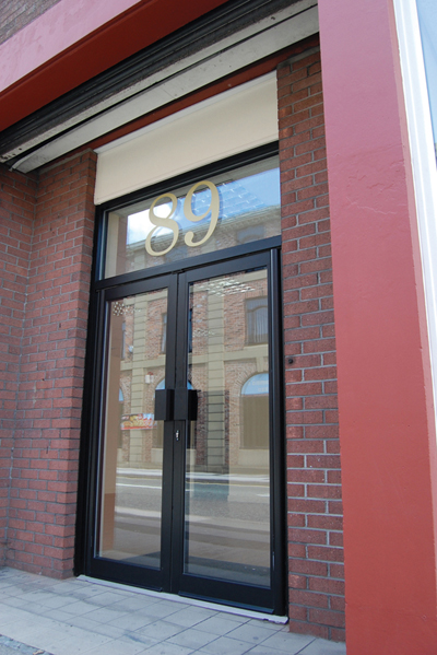 Security screen doors commercial security screen door for Commercial entry doors